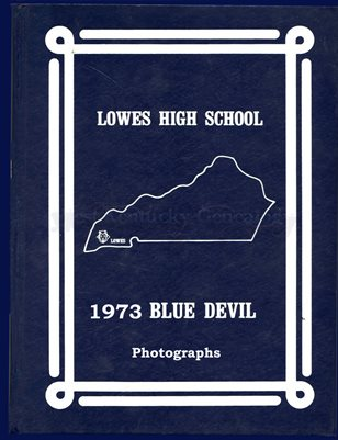 1973 Lowes High School Photographs