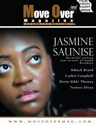 MoveOver Magazine: Actors Highlight Edition Starring Jasmine Saunise