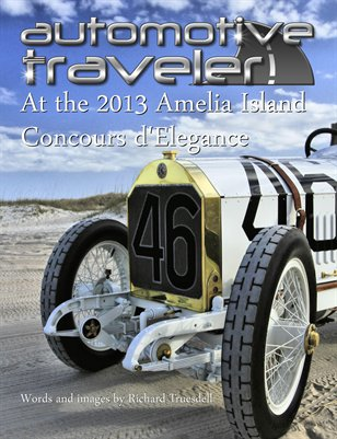 Automotive Traveler at the 2013 Amelia Island Concours d'Elegance, iPad Edition