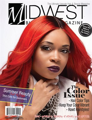 July 2014- Midwest Black Hair Magazine