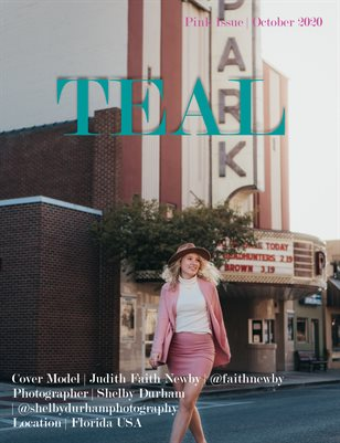 Teal Magazine Special Pink Issue