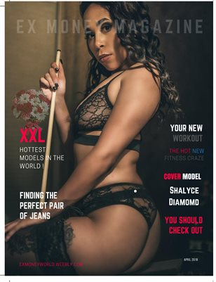 Ex Money Magazine Shalyce Diamond Edition