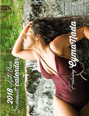 2018 Auto Oasis Swimsuit Calendar featuring CymaNada