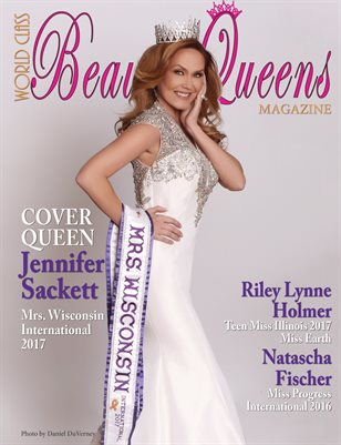 World Class Beauty Queens Magazine with Jennifer Sackett