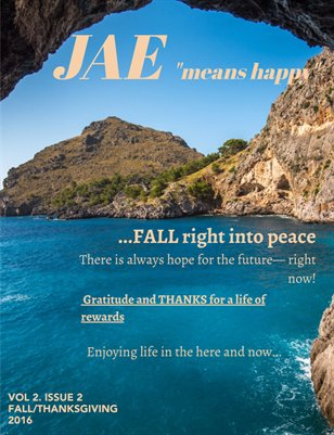 Jae Magazine Fall 2016