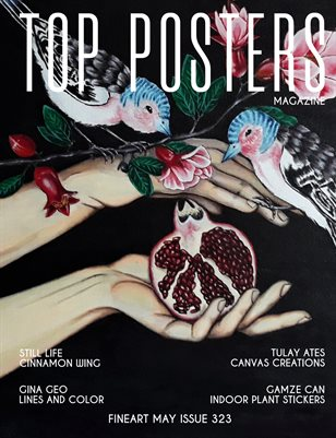 TOP POSTERS MAGAZINE - MAY FINEART (Vol 323)