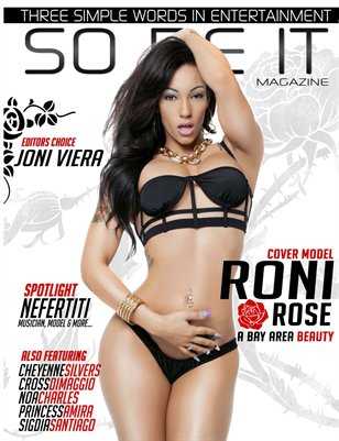SO BE IT MAGAZINE Issue 24 (RONI ROSE/NICOLE ZAVALA)