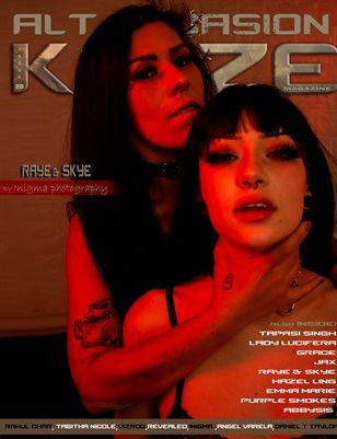 Kayze magazine issue 28 - ALT OCCASION - RAYE & SKYE