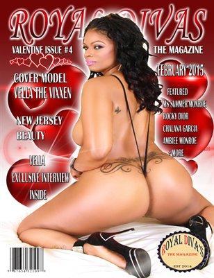 Royal Divas Magazine Valentine's Day Issue #4
