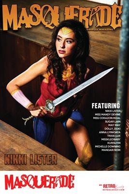 Masquerade No.10 – Nikki Lister Cover Poster