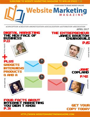 Website Marketing Magazine - April 2017
