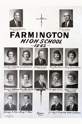 1962 Farmington High School, Graves County, Kentucky