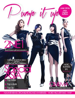 PUMP IT UP  MAGAZINE June 2016
