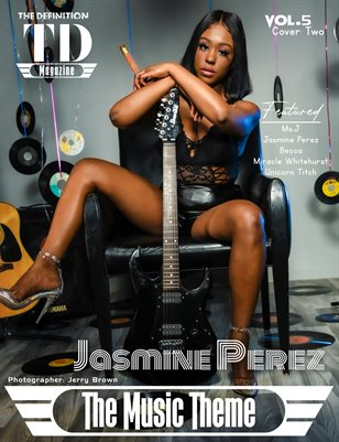 The Definition of Music: Jasmine Perez Vol.5 Cover 2