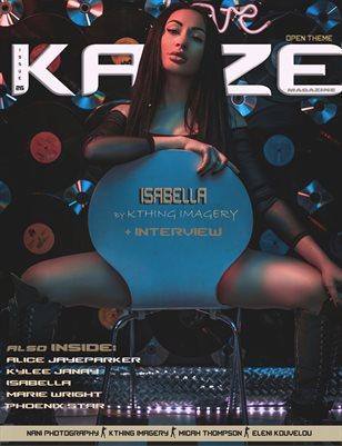Kayze magazine issue 27 -OPEN THEME - ISABELLA