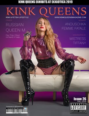 KINK QUEENS MAGAZINE | FALL 2018 | ISSUE 2019