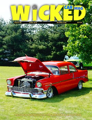 WICKED CAR MAG - JUNE - 1956 CHEVY 210
