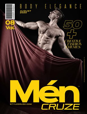 AUGUST 2020 Issue (Vol: 08) | MEN CRUZE Magazine
