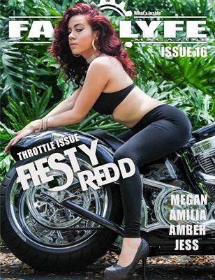 FASS LYFE MAGAZINE ISSUE 16 FIESTY REDD