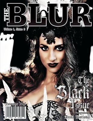 The Blur Magazine November The Black Issue