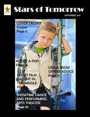 Stars of Tomorrow - September 2012 Issue