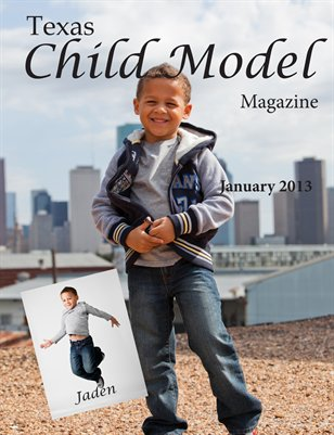 Texas Child Model Magazine January Edition
