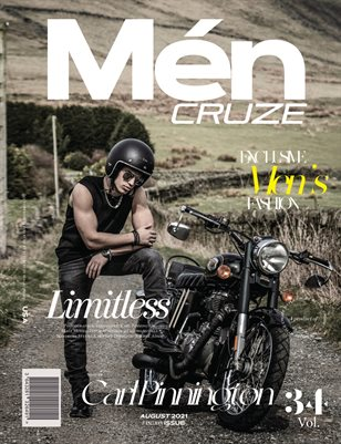 AUGUST 2021 Issue (Vol: 34) | MEN CRUZE Magazine