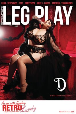 LEG PLAY No.1 – D Cover Poster