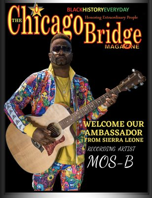 The Chicago Bridge Magazine Meet Mos-B International Artist