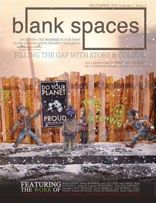 Blank Spaces - December 2016