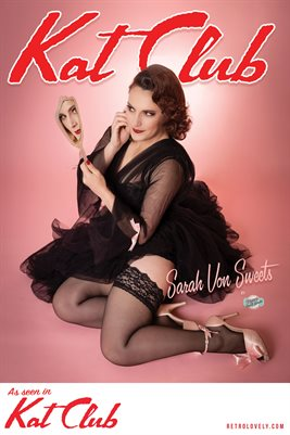 Kat Club No.22 – Sarah Von Sweets Cover Poster