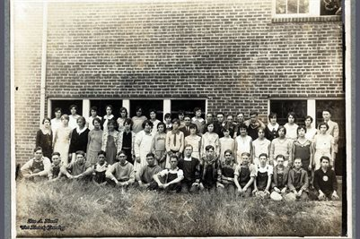 1930 BREWERS SCHOOL, MARSHALL COUNTY, KENTUCKY