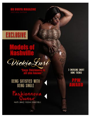 BB DUBYA MAGAZINE SEPT EDTION FEAT VICKIE LUST