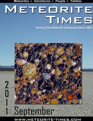 Meteorite Times Magazine - September 2011