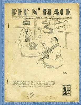 Red N' Black, March 3, 1944, Mayfield High School News Paper