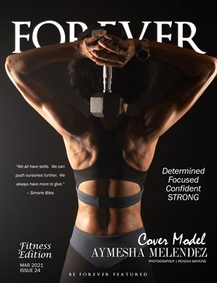 FOREVER Model Magazine Athletic Issue 24