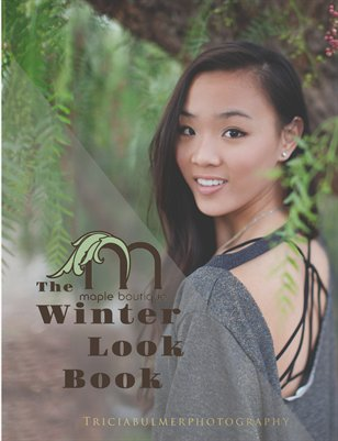 Maple Winter Lookbook