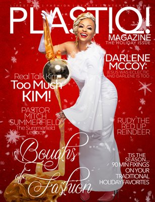 Plastiq! Magazine Holiday Issue featuring Darlene McCoy