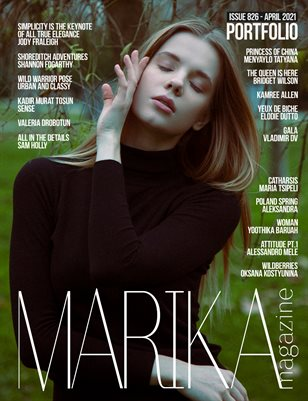 MARIKA MAGAZINE PORTFOLIO (ISSUE 826- APRIL)