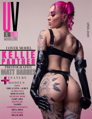 ULTRAVIOLET Magazine: April 2020 Cover Two