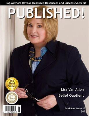 PUBLISHED! Excerpt featuring Lisa Van Allen