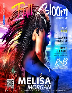Edition 17 Full Bloom Magazine Meli'sa Morgan Cover
