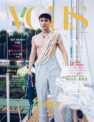 VOUS Magazine | The Man Edition | Vol.4 | September 2021