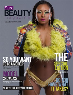 Sure Beauty Magazine - So you want to be a model