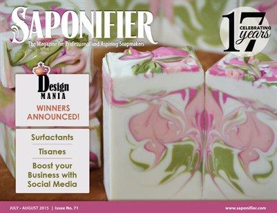 Saponifier Magazine: July/Aug 2015