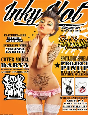 Inky Hot Magazine Issue #1