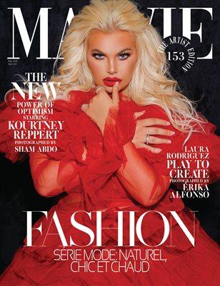 MALVIE Magazine The Artist Edition Vol 153 February 2021