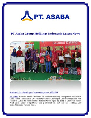PT Asaba Group Holdings Indonesia Latest News