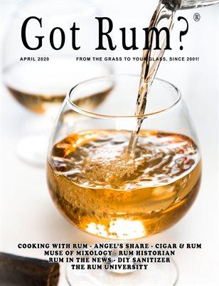 """Got Rum?"" April 2020"