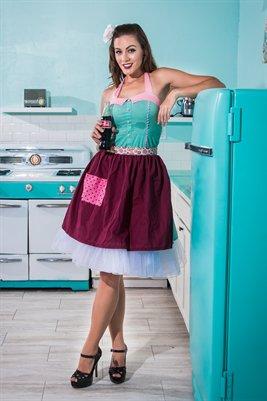 Miss April - 1950's Kitchen